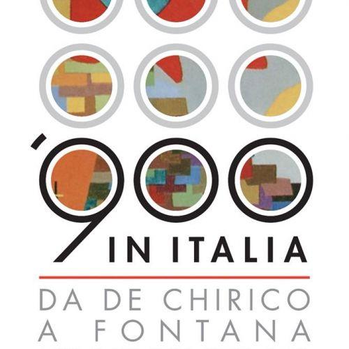 900 in Italia. Da De Chirico a Fontana