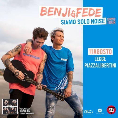 BENJI & FEDE live a Lecce