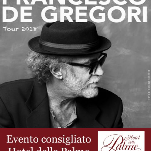 FRANCESCO DE GREGORI -TOUR 18 -
