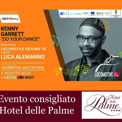 02 Agosto 2018 - Kenny Garrett / Lecce, ore 21.oo