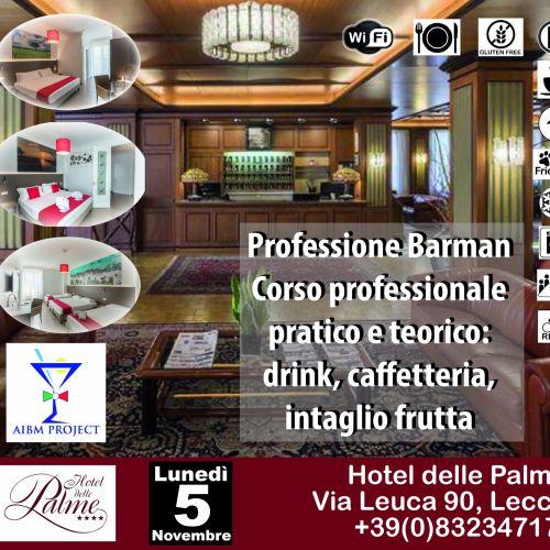 Corso professionale per barman pratico e teorico, 5 novembre '18