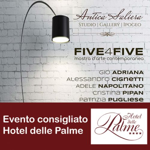 FIVE4FIVE mostra d'arte contemporanea