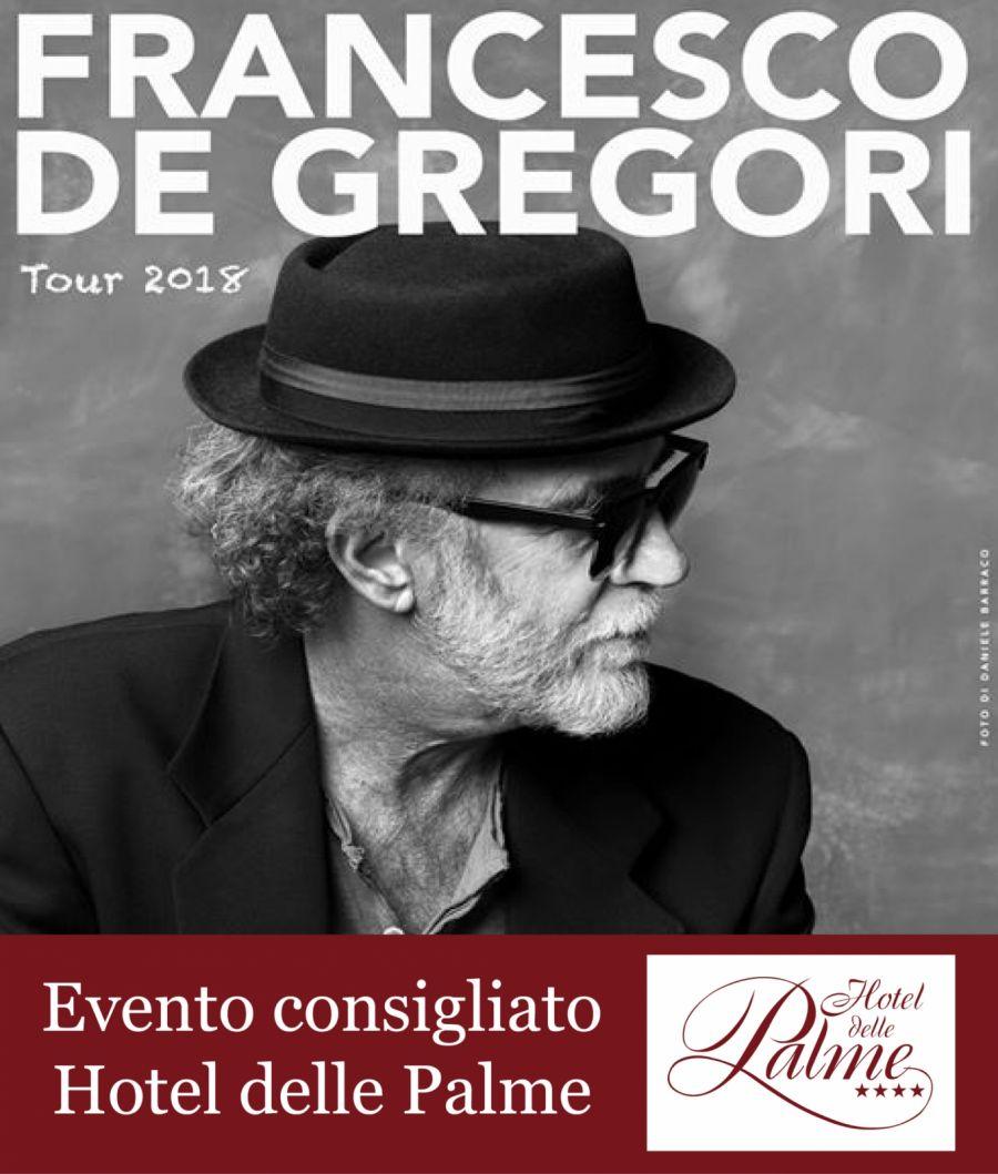 FRANCESCO DE GREGORI -TOUR 18 -