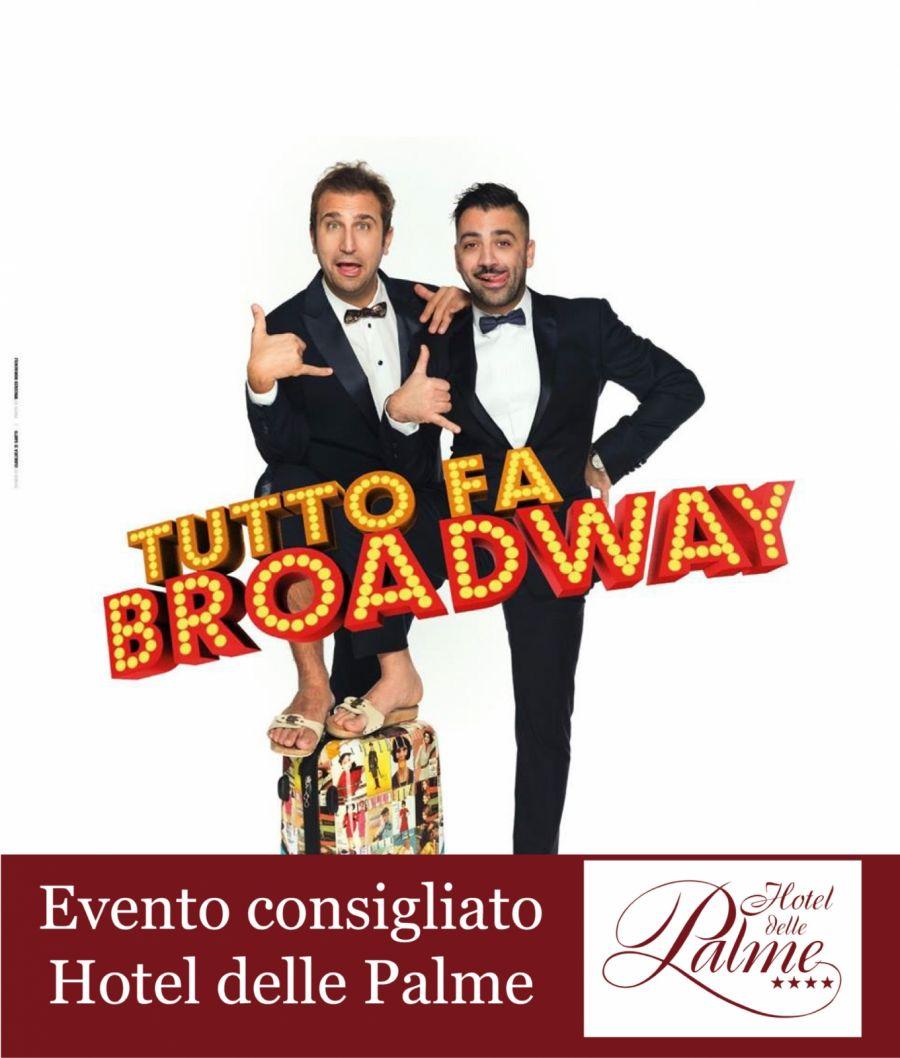 """PIO E AMEDEO """"Tutto fa Broadway Tour"""
