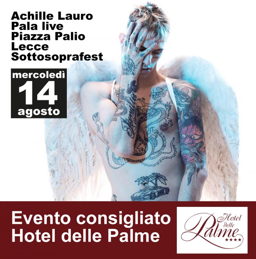 Achille Lauro in concerto