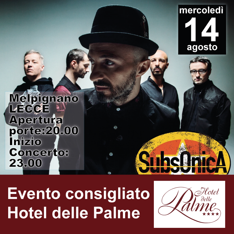 Subsonica concerto live