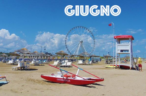 Mare a Giugno Offerte Rimini in Appartamenti Residence