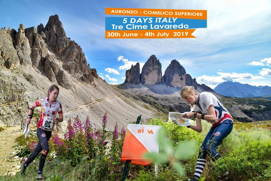 5 DAYS ITALY  3 CIME DI LAVAREDO  2019 orienteering