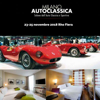 Offerta Hotel vicino a Auto Classica Rho Fiera!