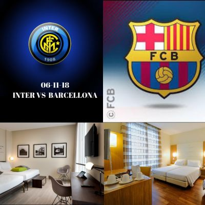 OFFERTA HOTEL VICINO A SAN SIRO: INTER BARCELLONA 06 NOVEMBRE 2018