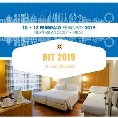 OFFERTA HOTEL VICINO A BIT MILANO FEBBRAIO 2019!