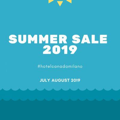 Hotel Offer SUMMER SALE 2018 in Milan
