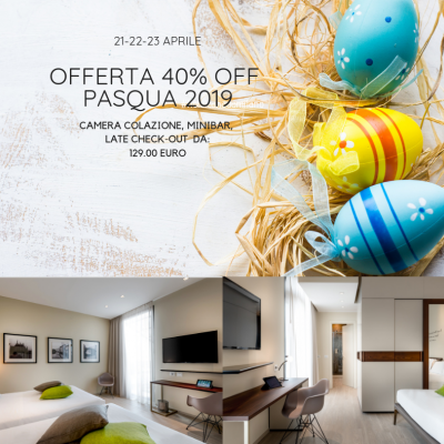 Special Offer hotel Milan  in the dowtown  with parking EASTER 2019 in Milan!