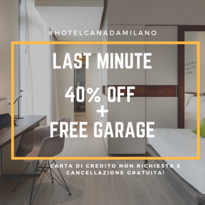 LAST MINUTE FLASH DEAL SPECIAL OFFER  40OFF+ GARAGE FREE!
