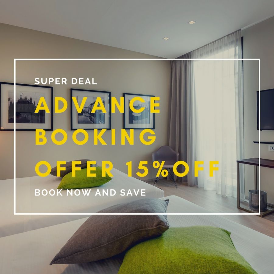 Offerta Advance Booking! Prenota prima e risparmia!