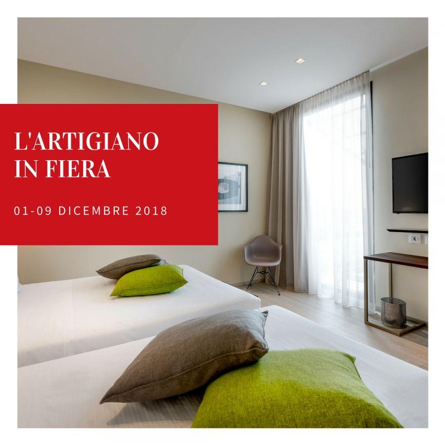 Offerta Hotel Vicino a Artigiano in Fiera 2018