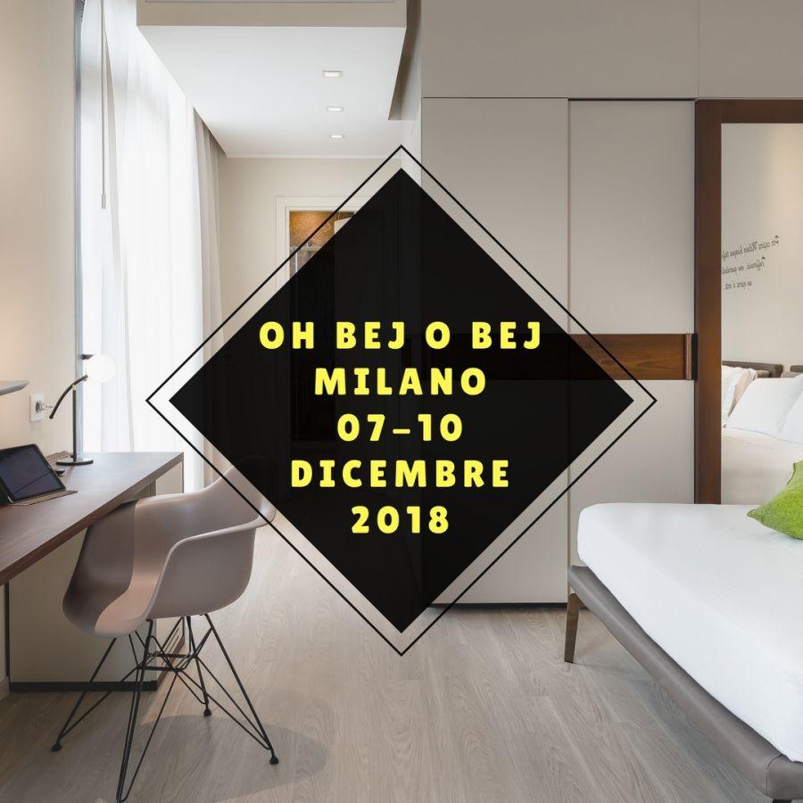 Offerta Hotel vicino a Obej Obej Milano 2018