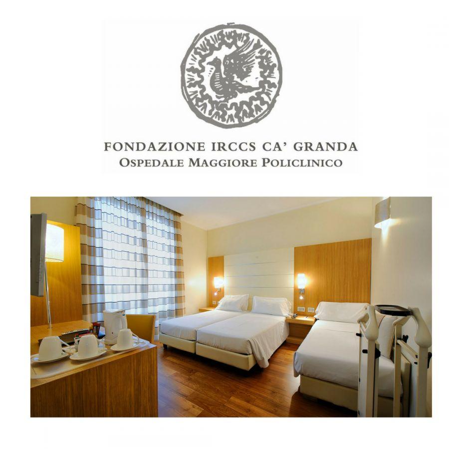 OFFERTA HOTEL  MILANO CENTRO VICINO ALL'OSPEDALE