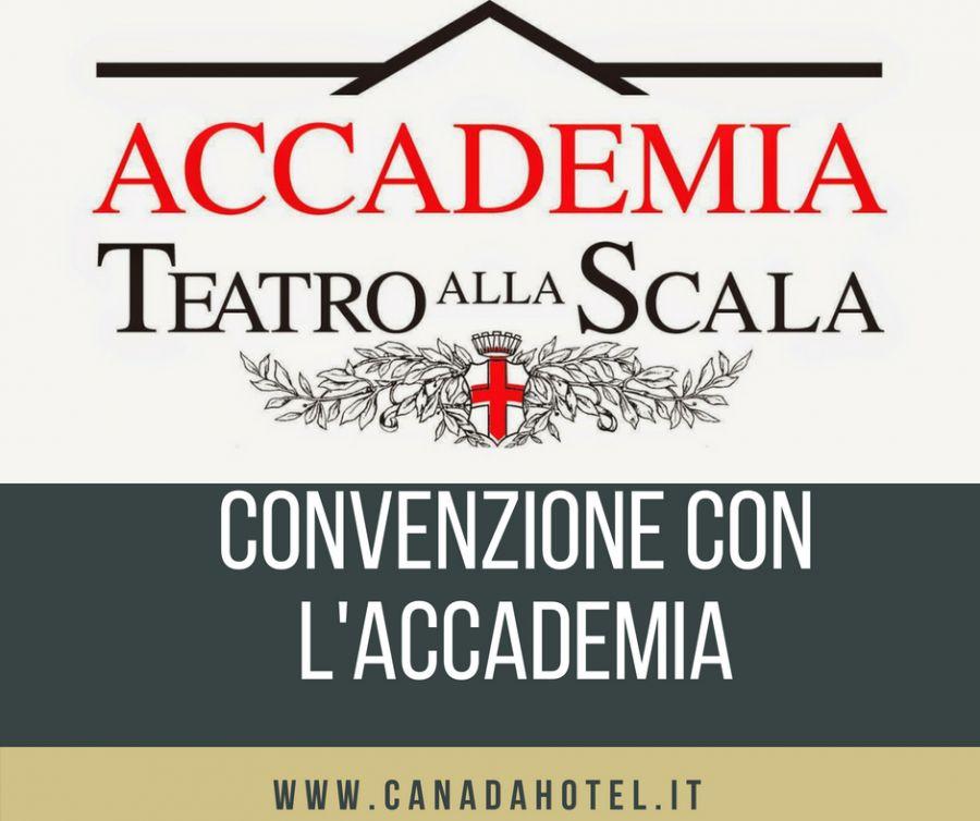 HOTEL CONVENZIONATO CON ACCADEMIA TEATRO ALLA SCALA