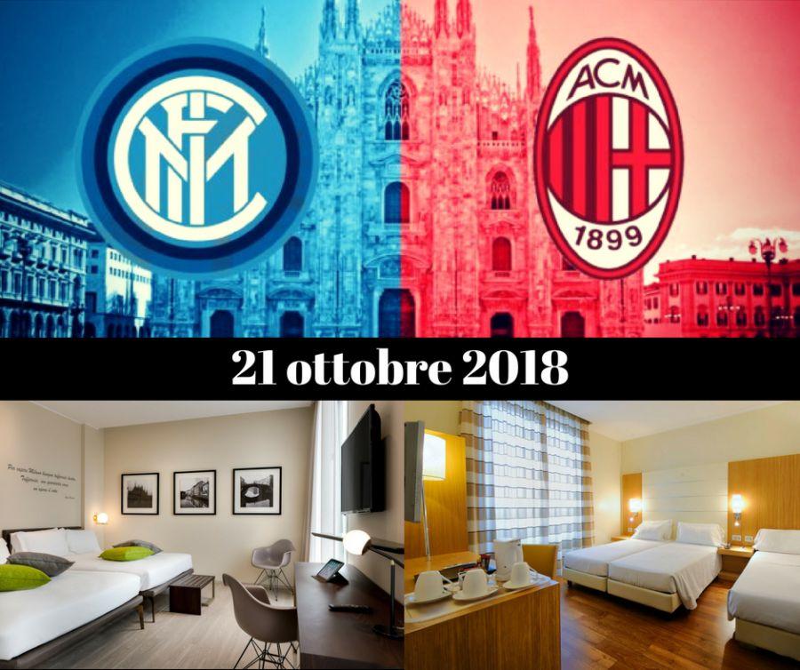 OFFERTA HOTEL PER DERBY INTER MILAN OTTOBRE 2018