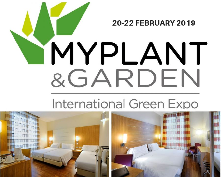 OFFERTA HOTEL VICINO A MY PLANT & GARDEN FEBBRAIO 2019