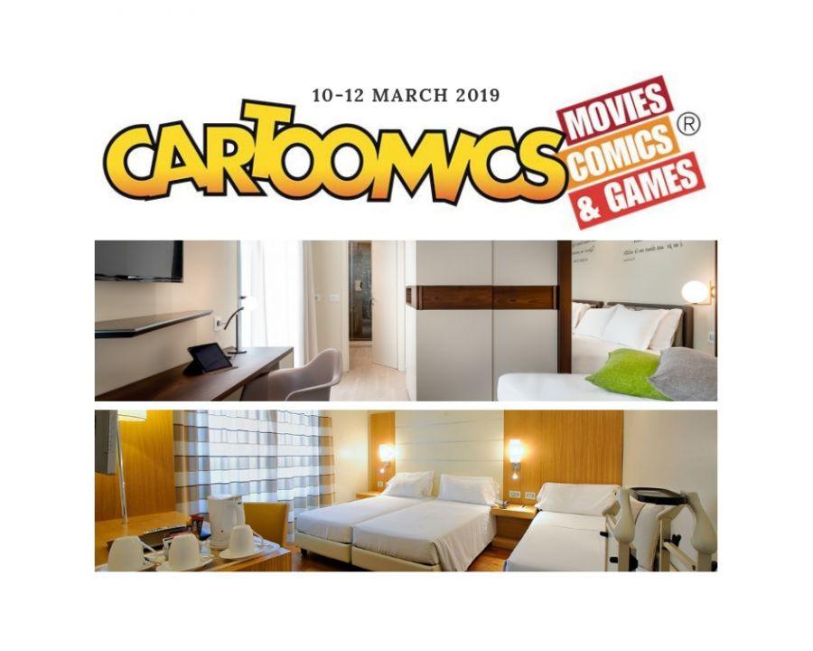 OFFERTA HOTEL MILANO VICINO A CARTOOMIX 2019