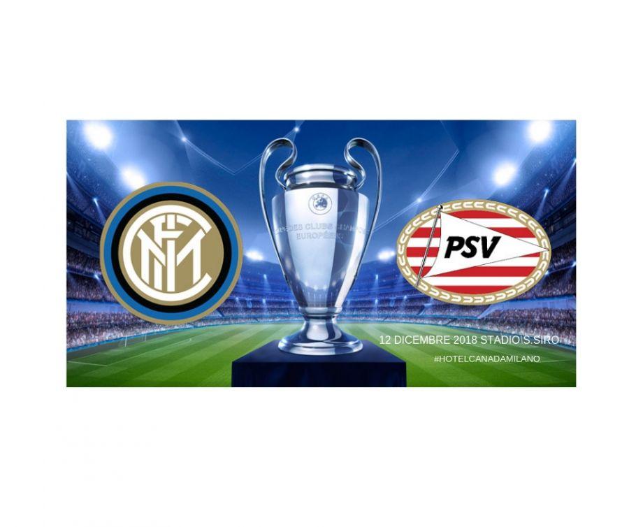 OFFERTA HOTEL MILANO CENTRO VICINO A SAN SIRO INTER  VS PSV