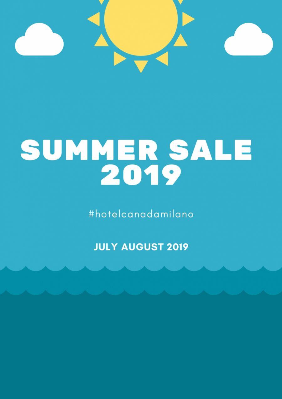 OFFERTA HOTEL MILANO SALDI ESTIVI LUGLIO 2019