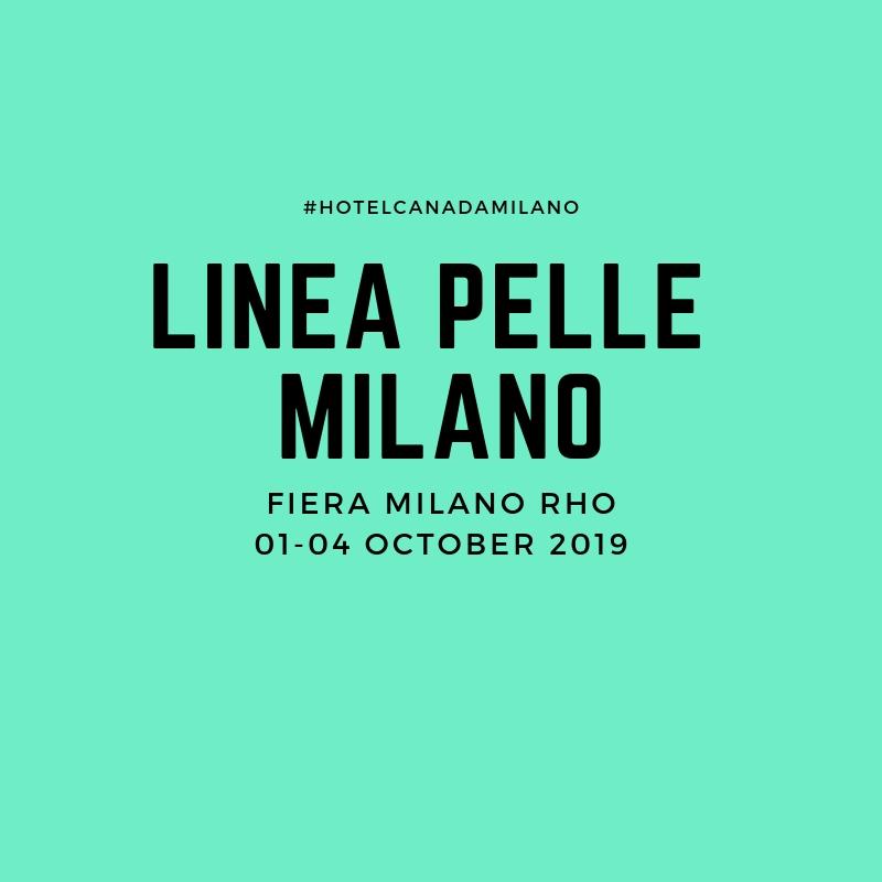 OFFERTA HOTEL MILANO CENTRO VICINO A LINEA PELLE SETTEMBRE 2019
