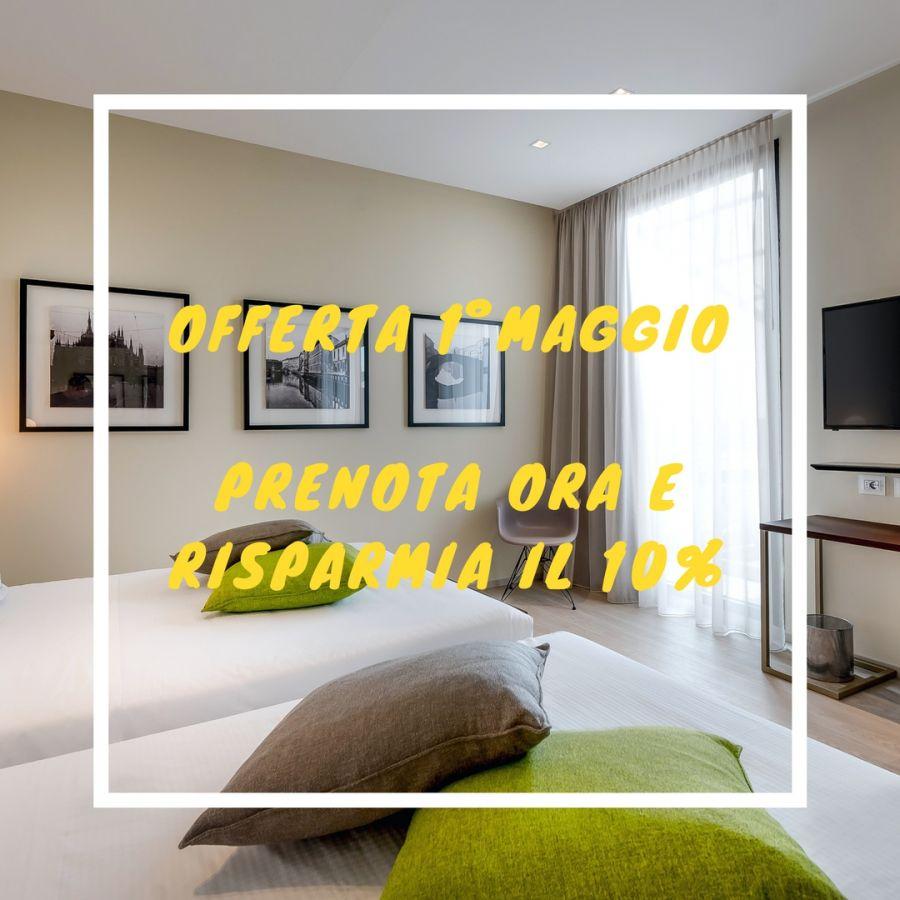 OFFERTA HOTEL MILANO CENTRO PER 1° MAGGIO 2019