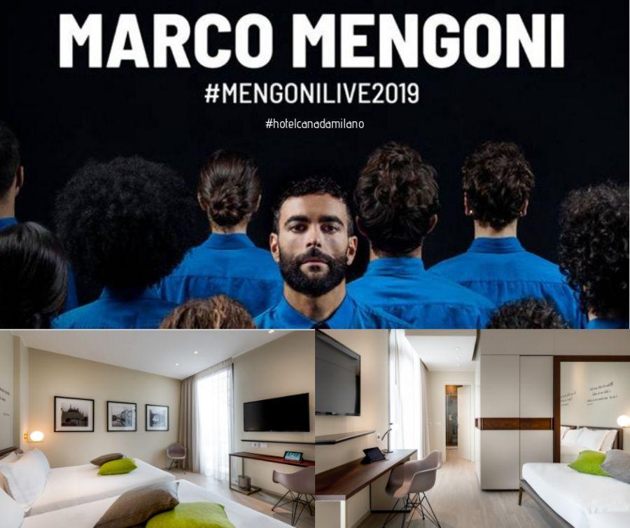 OFFERTA HOTEL MILANO CENTRO VICINO AL CONCERTO DI MARCO MENGONI MAGGIO 2019!