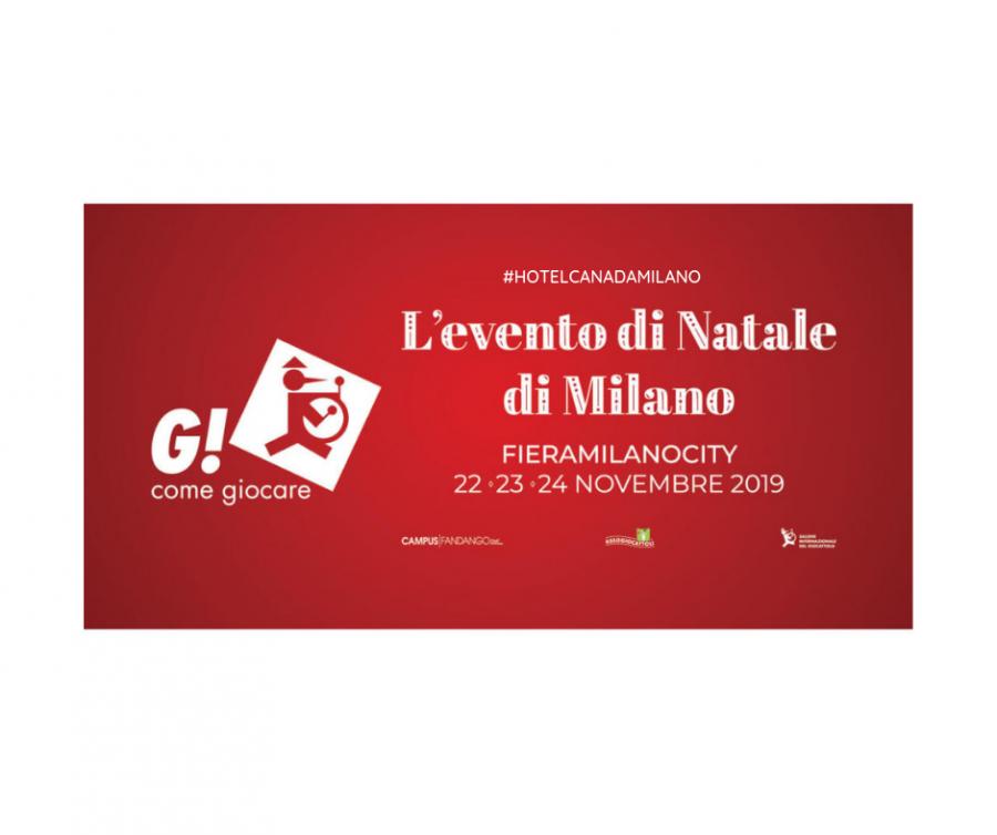 OFFERTA HOTEL MILANO VICINO A G COME GIOCARE NOVEMBRE 2019