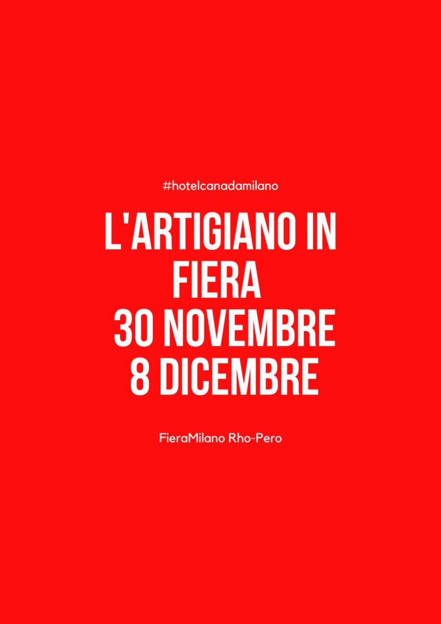OFFERTA HOTEL MILANO VICINO AD ARTIGIANATO IN FIERA 2019