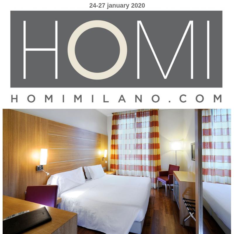 Offerta Hotel Milano centro vicino a Homi  gennaio 2019