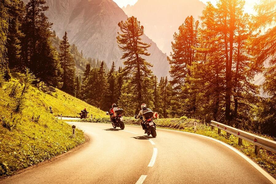 Tour in moto a Levico e dintorni