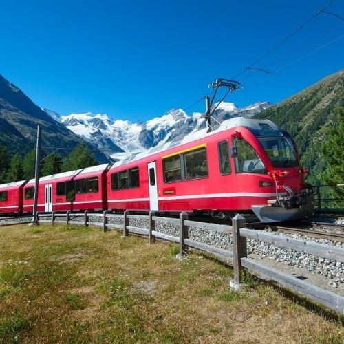 Bernina Red Train Offers