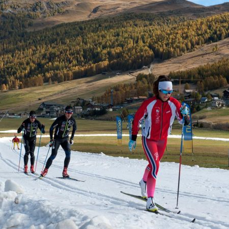 Langlaufstrecke Opening in Livigno