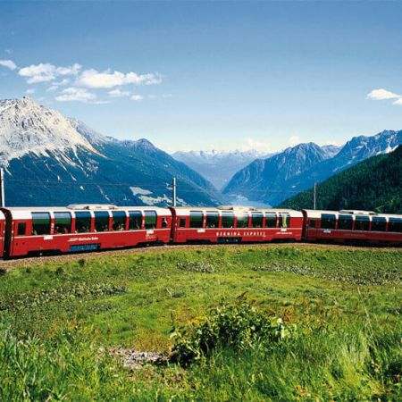 Bernina Roter Zug Angebot in Livigno