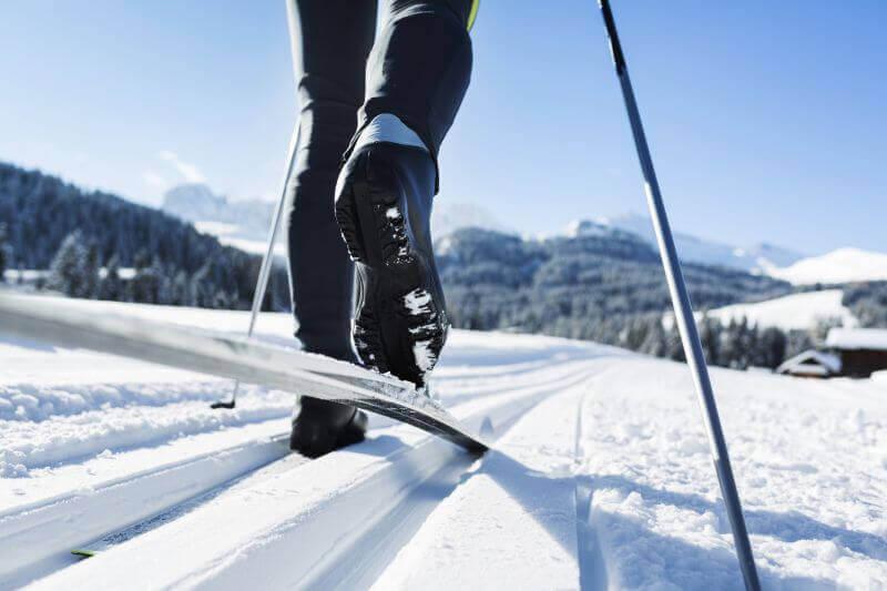 Cross-country skiing in Valtellina