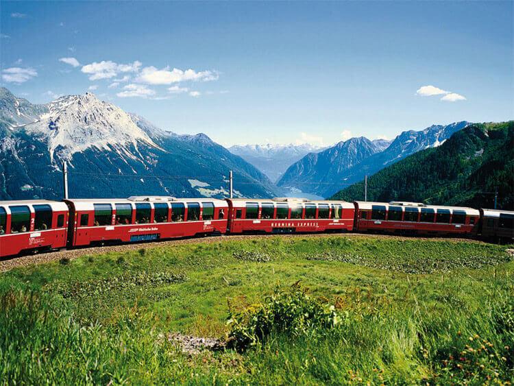Bernina Roter Zug Angebot in Livigno