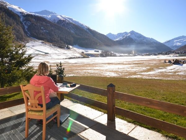 Offerta per smart working a Livigno