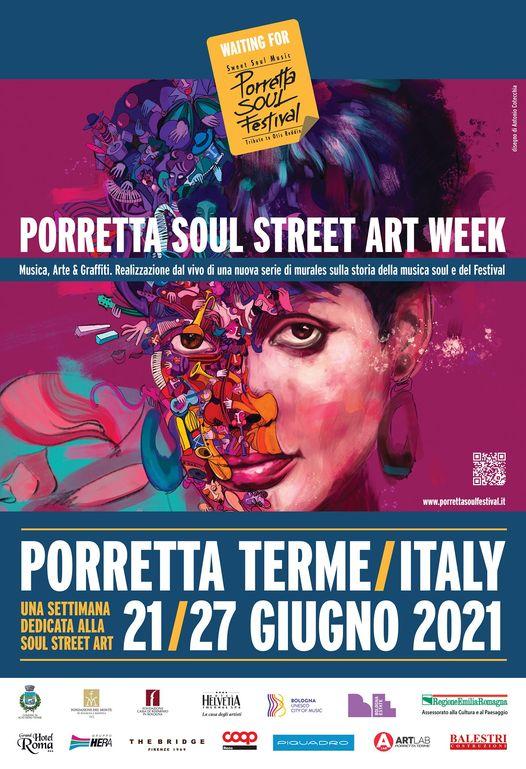 Porretta Soul Festival Street Art Week