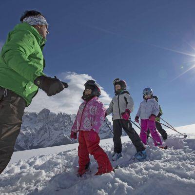 Offerte per famiglie tra le Dolomiti