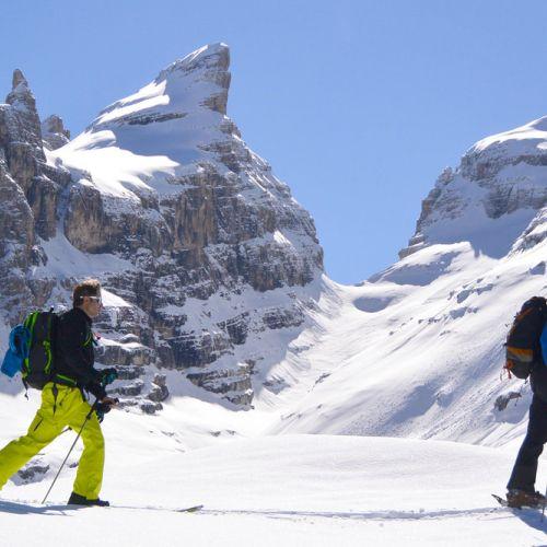 Scialpinismo Madonna di Campiglio e Dolomiti di Brenta