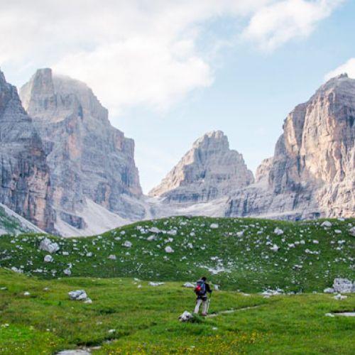 Ferragosto a Madonna di Campiglio e sulle Dolomiti