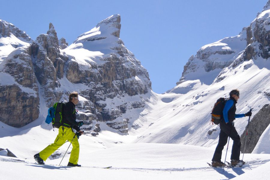 SKI MOUNTAINEERING Madonna di Campiglio and Dolomites