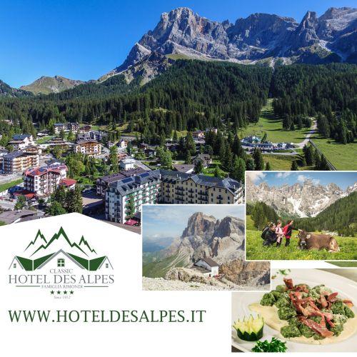 Pacchetto Settimanale a Giugno e Settembre a San Martino di Castrozza nelle Dolomiti Trentine