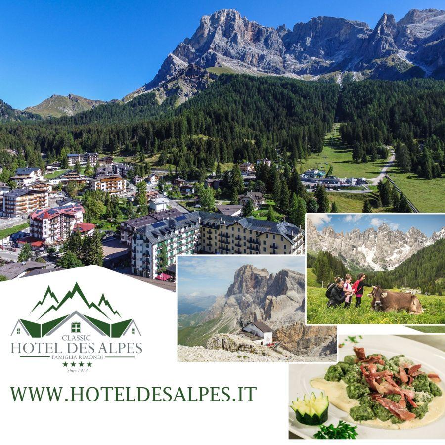 Pacchetto Settimanale Settembre a San Martino di Castrozza nelle Dolomiti Trentine