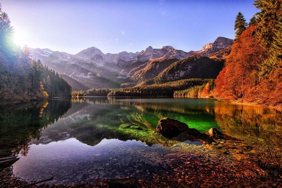Le lac Tovel
