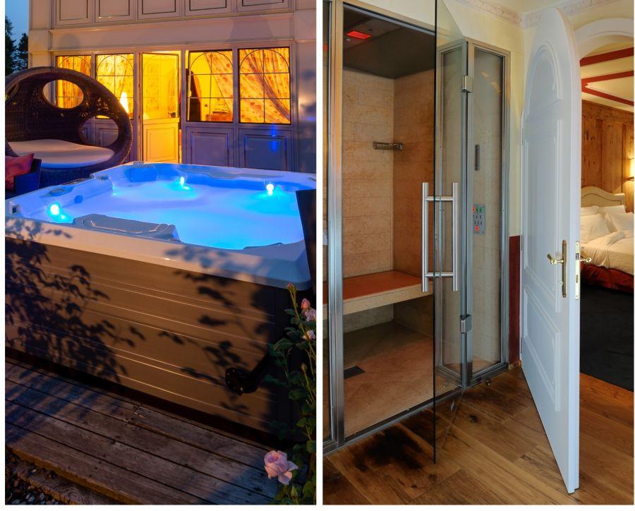 Ein entspannter Tag in einer Suite im Trentino